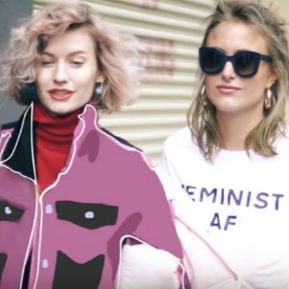 Το street hairstyle που είδαμε στην Εβδομάδα Μόδας της Νέας Υόρκης